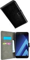 Samsung Galaxy A5 2017 Hoesje P Wallet Bookcase Zwart