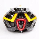 Magicshine Fietshelm met richtingaanwijzers en stoplicht - Genie smart bike helmet