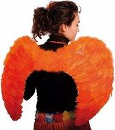 Koningsdag Oranje vleugels 80 x 56 cm
