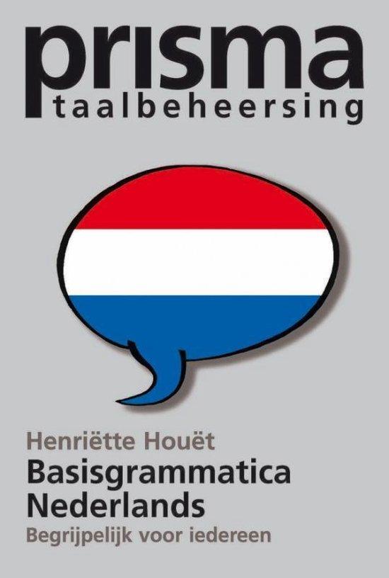 Prisma Basisgrammatica Nederlands - H.C.S. Houet |