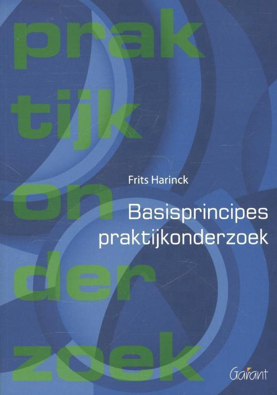 Windesheim OSO-boeken 6 - Basisprincipes praktijkonderzoek - Frits Harinck |