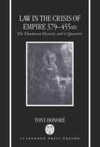Law in the Crisis of Empire 379-455 AD