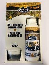 Herbi press 0,5 L - tegen onkruid en mos