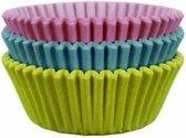 PME Mini Cupcake Vormpjes Pastel pk/100