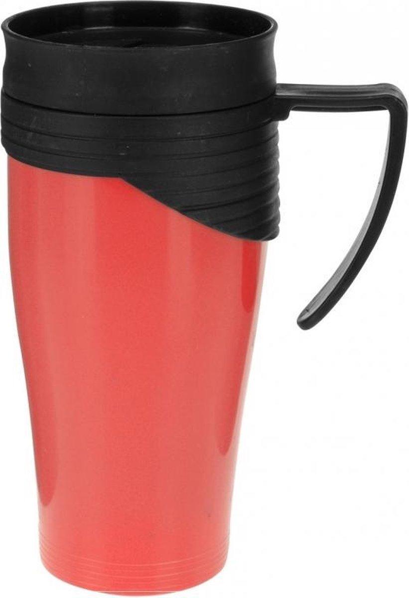 Thermosbeker rood 420 ml - Merkloos