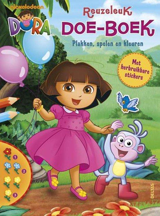 Dora - Dora reuzeleuk doe-boek