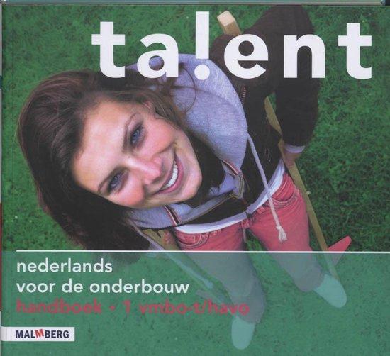 Talent 1 Vmbo-t/Havo Handboek - E. Mulder |