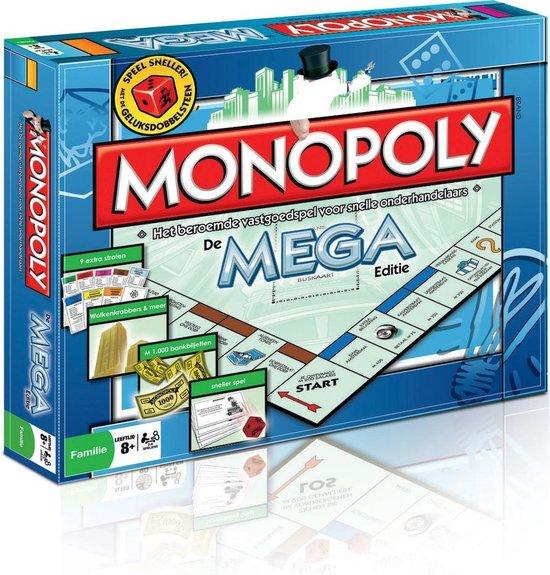 Afbeelding van Monopoly Mega - Bordspel