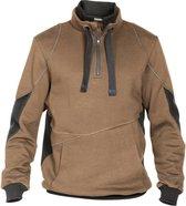 Dassy Stellar sweatshirt D-FX Bruin/Grijs maat M