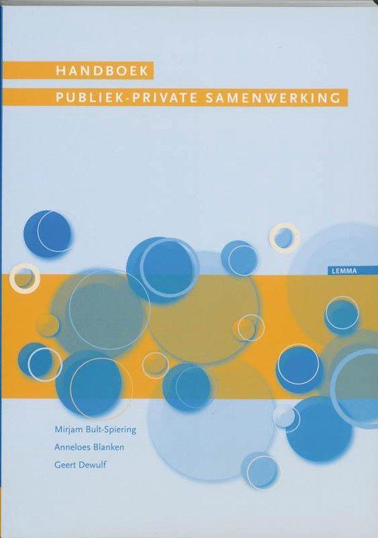 Handboek publiek-private samenwerking - M. Bult-Spiering pdf epub