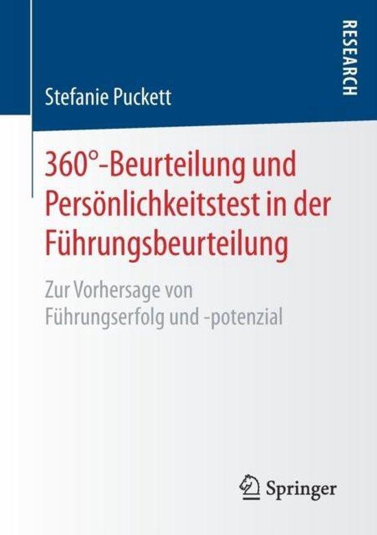 360 Degrees-Beurteilung Und Persoenlichkeitstest in Der Fuhrungsbeurteilung