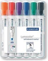 Staedtler Lumocolor - Whiteboard marker - 2 mm - 6 stuks/kleuren
