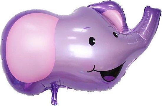 Folie helium ballon Olifant 98cm