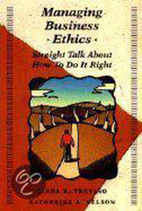 Boek cover Managing Business Ethics van Linda K. Trevino (Paperback)