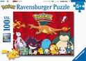 Ravensburger puzzel Pokémon - Legpuzzel - 100XXL stukjes
