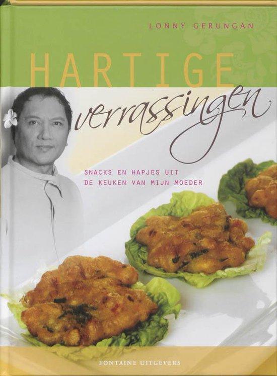 Cover van het boek 'Hartige verrassingen' van Lonnie Gerungan