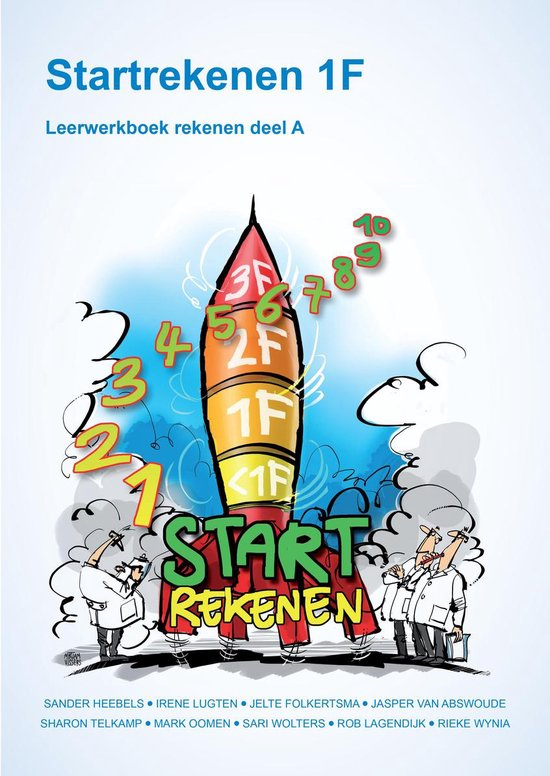 Startrekenen 1F - Leerwerkboek deel A - Sander Heebels pdf epub