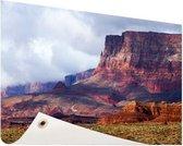 Woestijnlandschap Amerika Tuinposter 120x80 cm - Tuindoek / Buitencanvas / Schilderijen voor buiten (tuin decoratie)