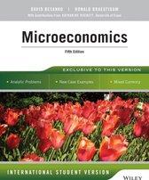 Boek cover Microeconomics van David Besanko (Paperback)