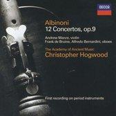 Albinoni: 12 Concertos Op 9 / Hogwood, Manze, et al