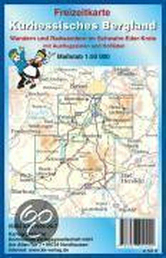 Freizeitkarte Kurhessisches Bergland 1 : 50 000