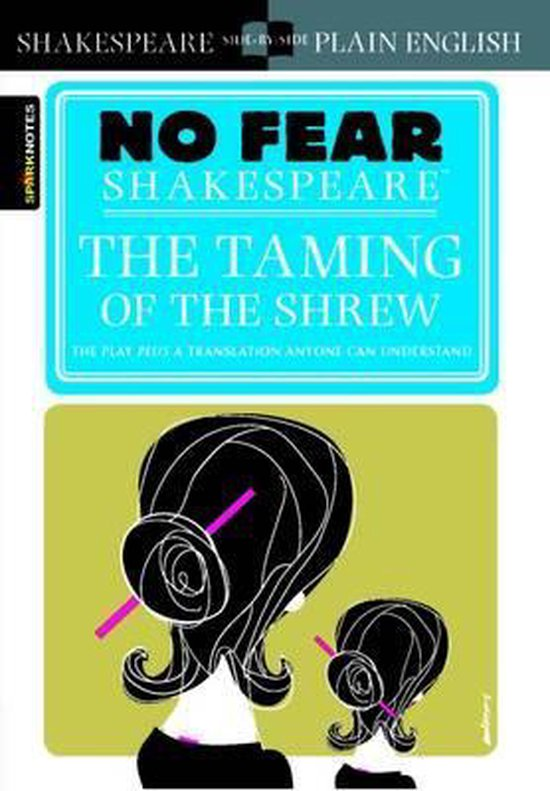 Boek cover The Taming of the Shrew (No Fear Shakespeare) van Sparknotes (Paperback)