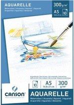 Canson Aquarelblok Graduate A5 250gr 20vel