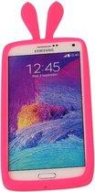 Roze Bumper Konijn Medium Frame Case Hoesje voor Samsung Galaxy A5 2017