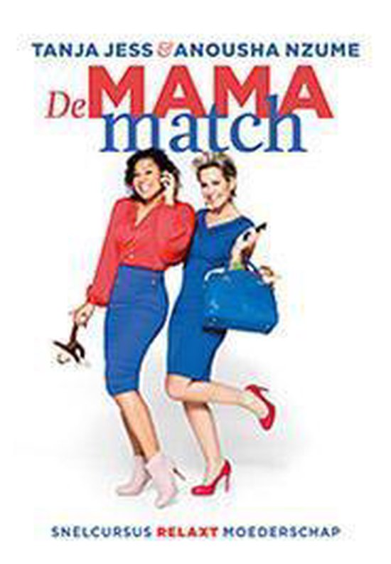 Cover van het boek 'De mama match' van Tanja Jess