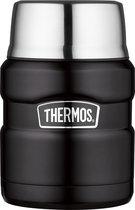 Thermos King Voedseldrager - 470 ml - Zwart