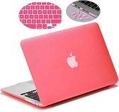 """Hard Case Cover Laptop Voor de Apple Macbook Air 13"""""""" Inch - Bescherming Hoes - Beschermhoes Hardshell Sleeve - Roze"""