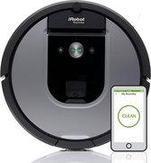 iRobot Roomba 965 robotstofzuiger Zakloos Zwart, Grijs 0,6 l