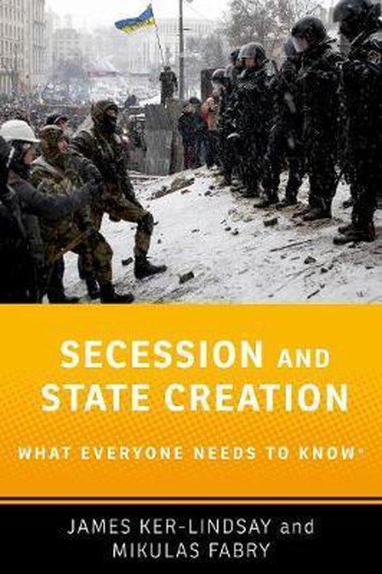 Boek cover Secession and State Creation van James Ker-Lindsay (Paperback)