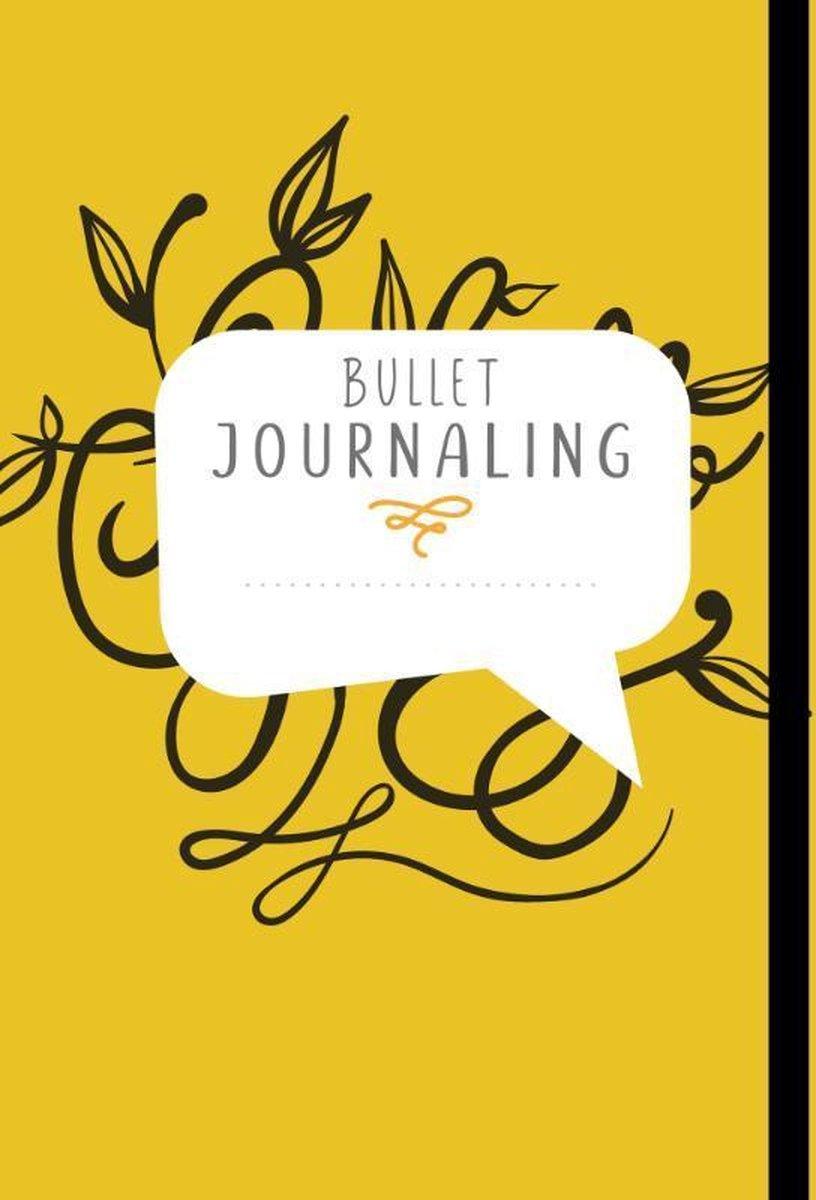 Bullet journaling, alles op een rijtje! Yellow hand lettering