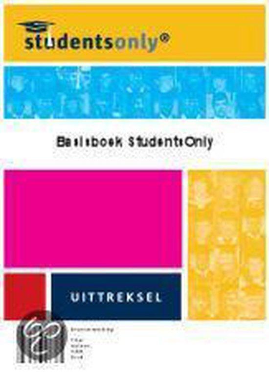 Cover van het boek 'Basisboek P&O - uittreksel'
