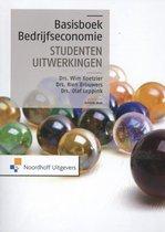 Afbeelding van Basisboek bedrijfseconomie - studentenuitwerkingen