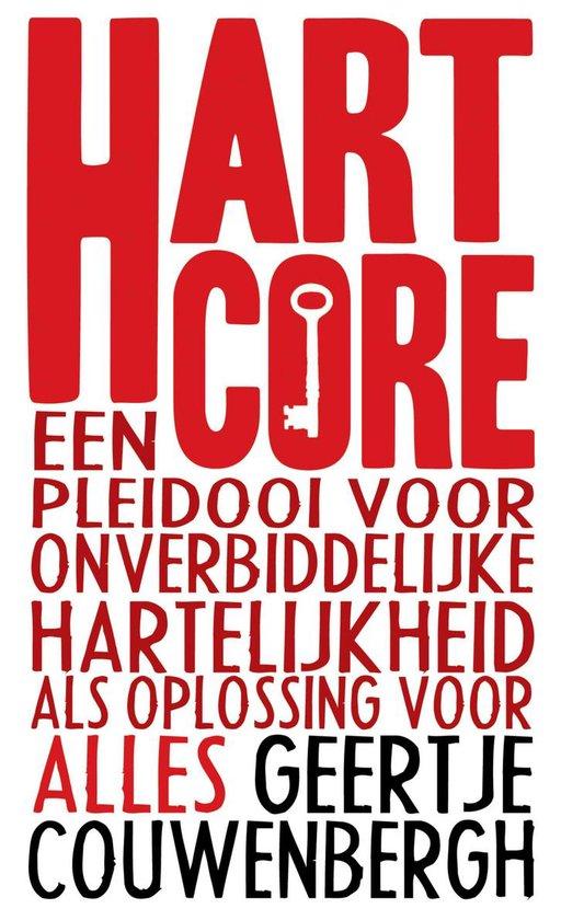 Cover van het boek 'Hartcore' van Geertje Couwenbergh