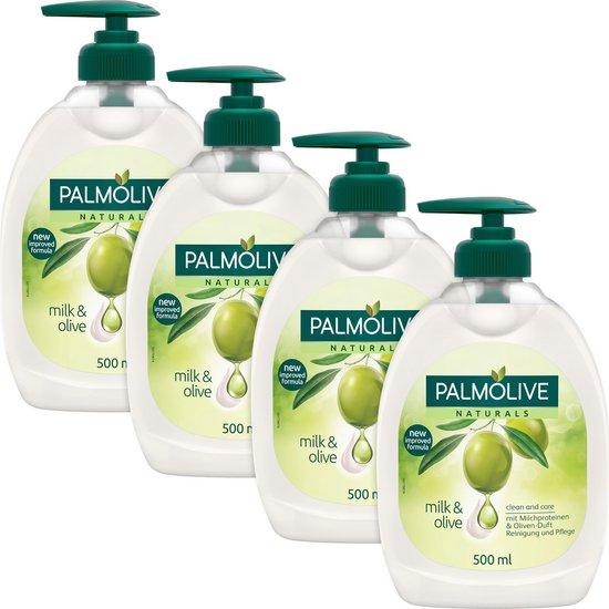 Palmolive Naturals Olijf Handzeep - 4 x 500ml - Voordeelverpakking