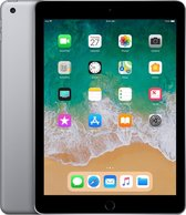 Apple iPad (2018) - 9.7 inch - WiFi - 32GB - Spacegrijs