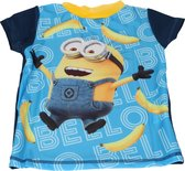 Despicable Me 3 Jongens UV T-shirt – Maat 92/98 – Blauw – UPF 40+ | Kleding met Zonbeschermende Stof | Kindershirts met Zonnebescherming | UV-werende Kleren