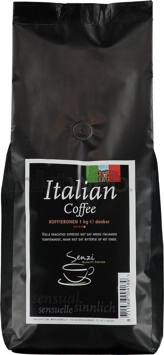 Senzi Italian Premium Koffiebonen - 1 kg - Senzicoffee