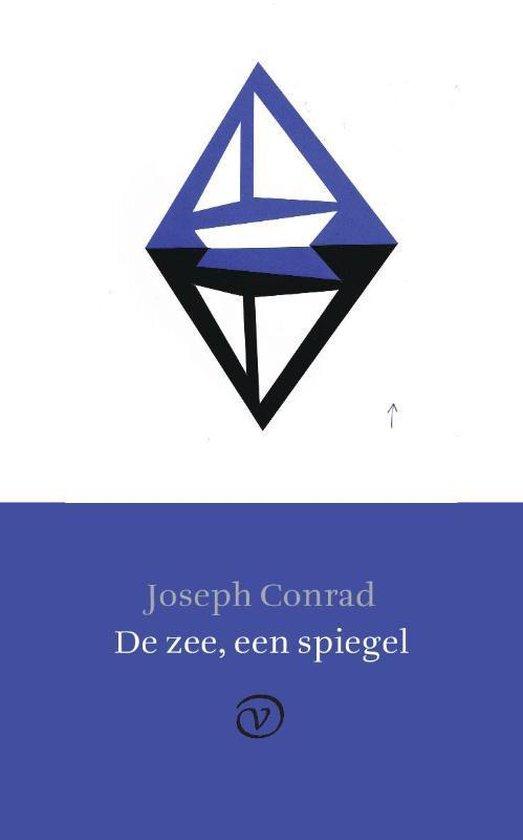 Boek cover De zee, een spiegel van Joseph Conrad