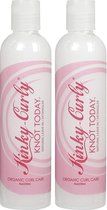 Kinky Curly Knot Today Leave in Conditioner - 8 oz - 2 Pack