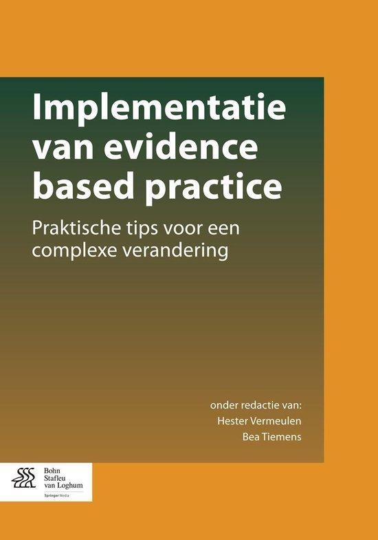 Implementatie van evidence based practice - none pdf epub