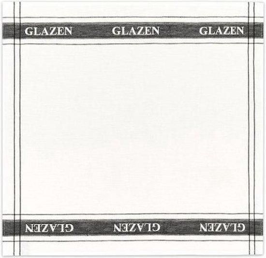 DDDDD Glazen Glazendoeken/poleerdoekenset - Wit - 3 Stuks