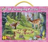 Galt - 3D puzzel - Het betoverde woud - 56st.