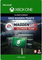 Madden NFL 18: 5.850 Madden Points - Xbox One