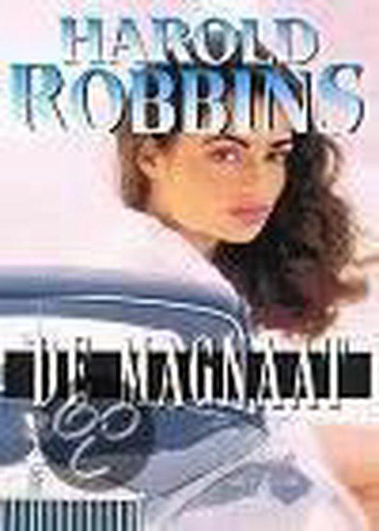 Cover van het boek 'De magnaat' van Harold Robbins