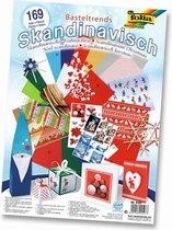Folia Knutsel Papierpakket Scandinavisch A040078 - 169 delig