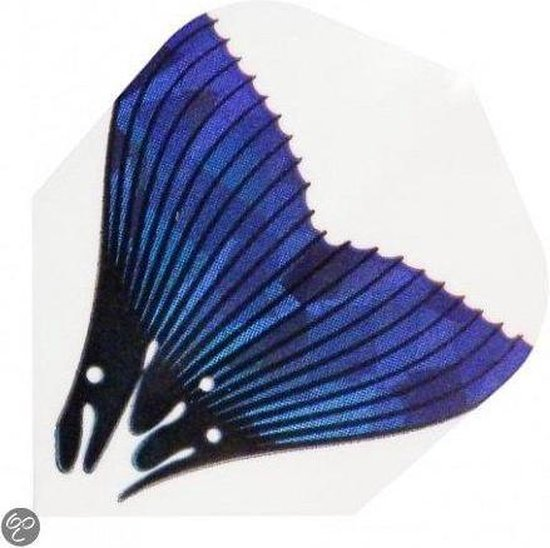 Harrows darts Flight 1616 hologram fish tail